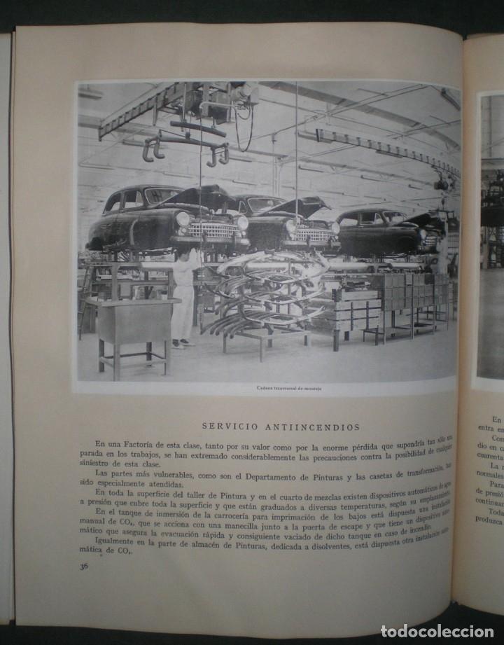 Coches y Motocicletas: SEAT: SOCIEDAD ESPAÑOLA DE AUTOMOVILES DE TURISMO. Mayo 1953. Láminas Hauser y Menet - Foto 4 - 182211151