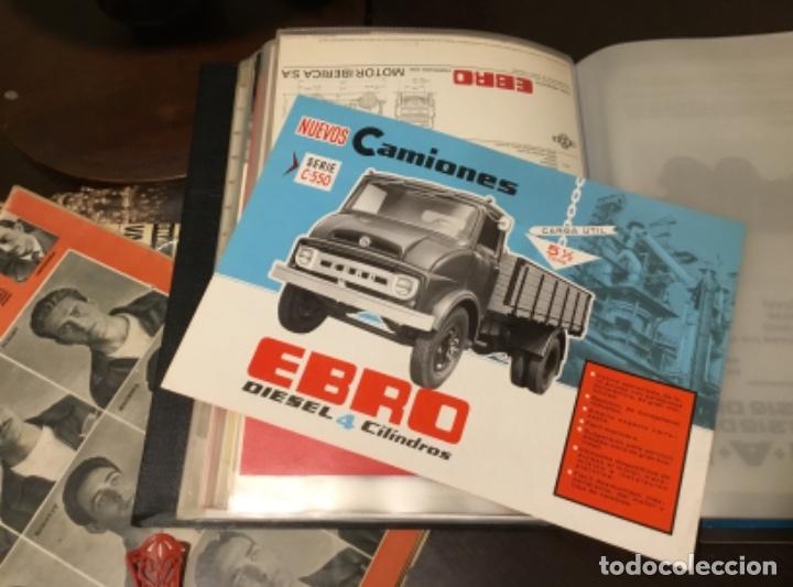 ANTIGUO CATÁLOGO CAMIÓN EBRO SERIE C-550 AÑOS 60 TOTALMENTE ORIGINAL (Coches y Motocicletas Antiguas y Clásicas - Catálogos, Publicidad y Libros de mecánica)