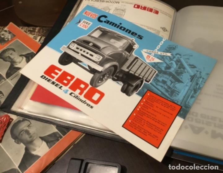 Coches y Motocicletas: Antiguo catálogo camión Ebro serie C-550 años 60 Totalmente original - Foto 2 - 182346313