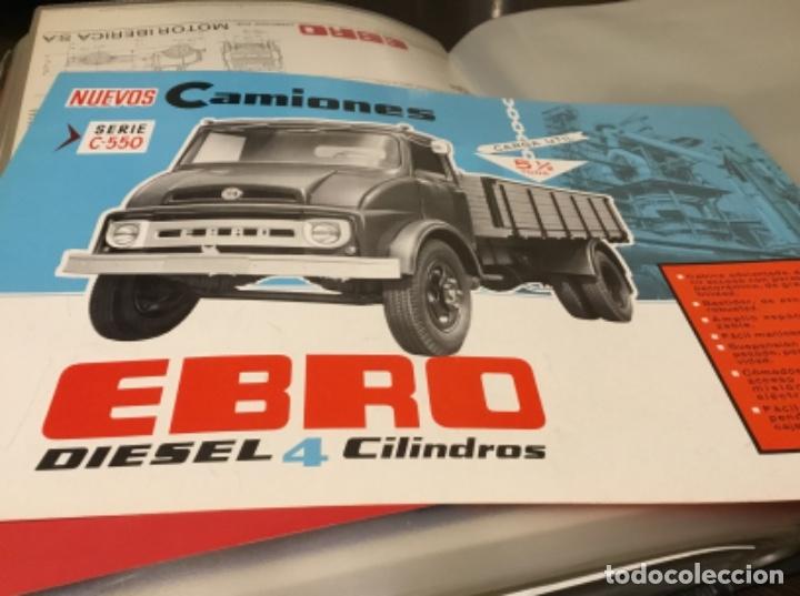 Coches y Motocicletas: Antiguo catálogo camión Ebro serie C-550 años 60 Totalmente original - Foto 3 - 182346313