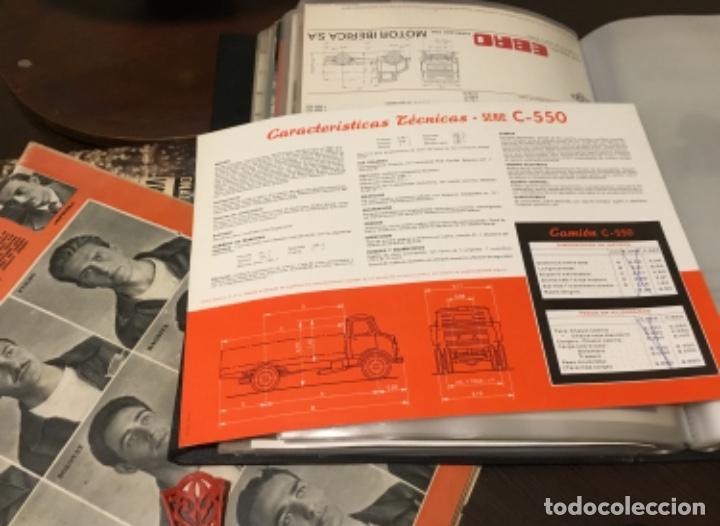 Coches y Motocicletas: Antiguo catálogo camión Ebro serie C-550 años 60 Totalmente original - Foto 4 - 182346313