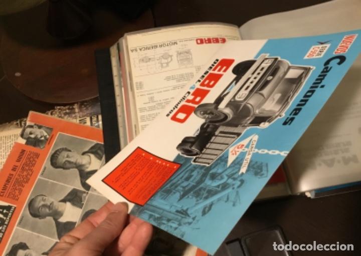 Coches y Motocicletas: Antiguo catálogo camión Ebro serie C-550 años 60 Totalmente original - Foto 9 - 182346313