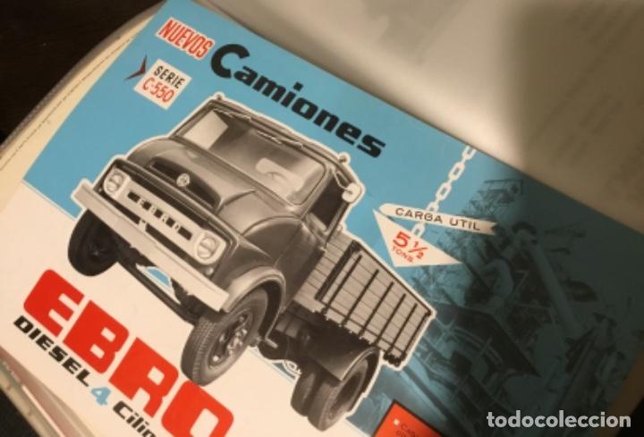 Coches y Motocicletas: Antiguo catálogo camión Ebro serie C-550 años 60 Totalmente original - Foto 10 - 182346313