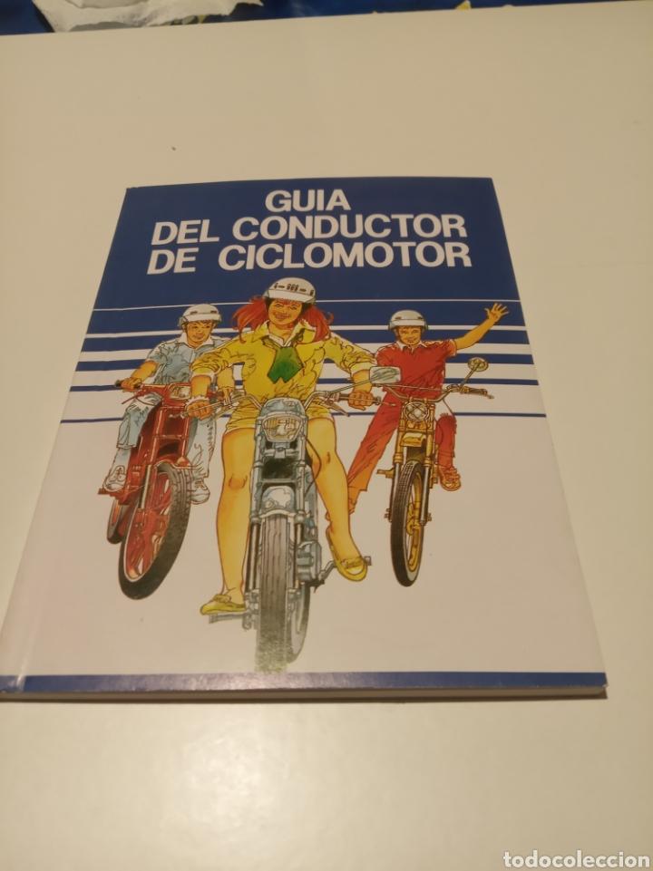 GUIA DEL CONDUCTOR DE CICLOMOTOR (Coches y Motocicletas Antiguas y Clásicas - Catálogos, Publicidad y Libros de mecánica)