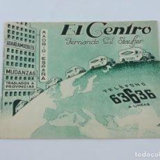 Coches y Motocicletas: CATALOGO PUBLICITARIO EL CENTRO, FERNANDO GIL STAUFFER DE 1934, REPUBLICA ESPAÑOLA, TIENE 16 PAGINAS. Lote 182584598