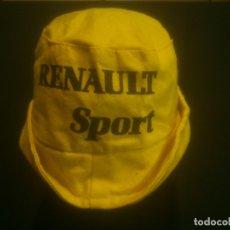 Carros e motociclos: GORRA RENAULT SPORT ANOS 70S. . Lote 182813930