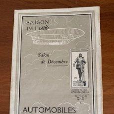 Coches y Motocicletas: CATALOGO ORIGINAL 1911 CLEMENT BAYARD AUTOMOBILES SALES BROCHURE. Lote 182865557