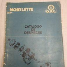 Coches y Motocicletas: CATÁLOGO DE DESPIECE MOBYLETTE. Lote 183088026