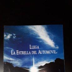 Coches y Motocicletas: -CHRYSLER -JEEP-LLEGA LA ESTRELLA DEL AUTOMOVIL-FOLLETO PUBLICITARIO-8 PAG-AÑOS 90. Lote 183362431