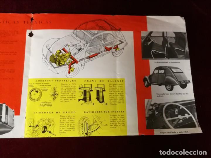 Coches y Motocicletas: Catálogo Citroën 2 CV tracción delantera 1958 - Foto 5 - 183370537