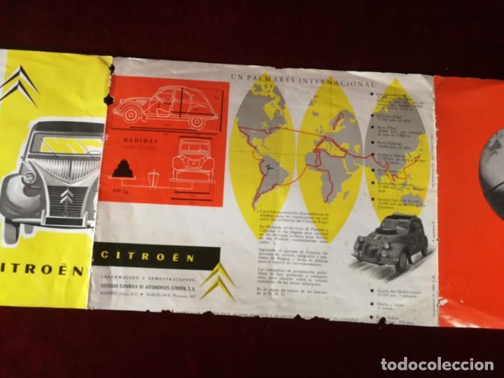 Coches y Motocicletas: Catálogo Citroën 2 CV tracción delantera 1958 - Foto 8 - 183370537
