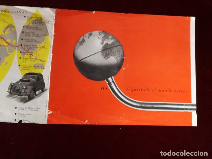 Coches y Motocicletas: Catálogo Citroën 2 CV tracción delantera 1958 - Foto 9 - 183370537