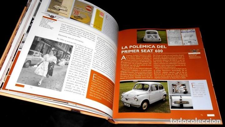Coches y Motocicletas: SEAT 600. ATLAS ILUSTRADO. JOSE FELIU. PROLOGO ANTONIO LOBATO. - Foto 2 - 183389203