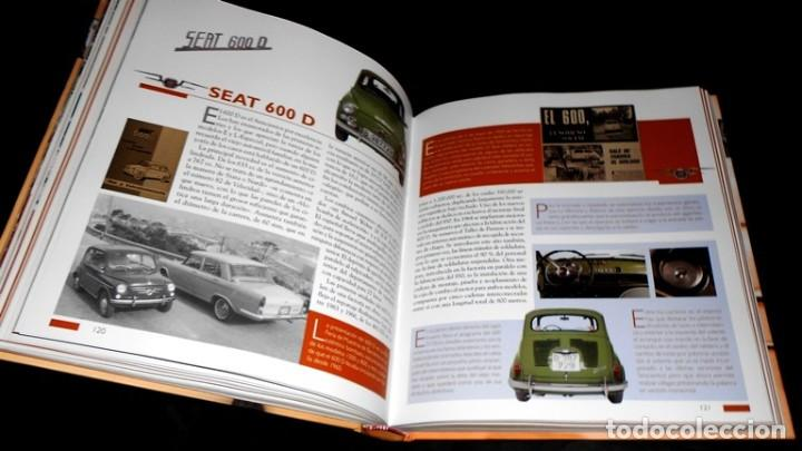 Coches y Motocicletas: SEAT 600. ATLAS ILUSTRADO. JOSE FELIU. PROLOGO ANTONIO LOBATO. - Foto 4 - 183389203