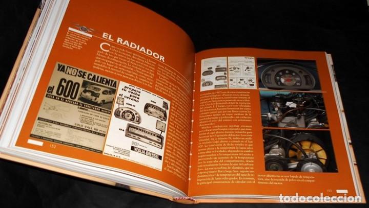 Coches y Motocicletas: SEAT 600. ATLAS ILUSTRADO. JOSE FELIU. PROLOGO ANTONIO LOBATO. - Foto 5 - 183389203