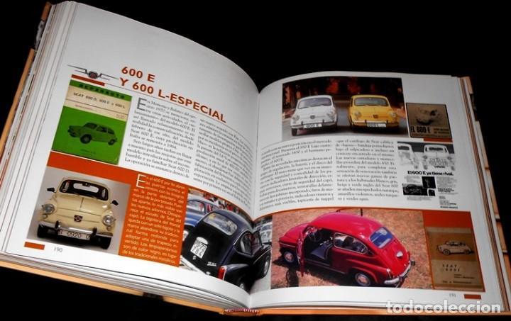 Coches y Motocicletas: SEAT 600. ATLAS ILUSTRADO. JOSE FELIU. PROLOGO ANTONIO LOBATO. - Foto 6 - 183389203