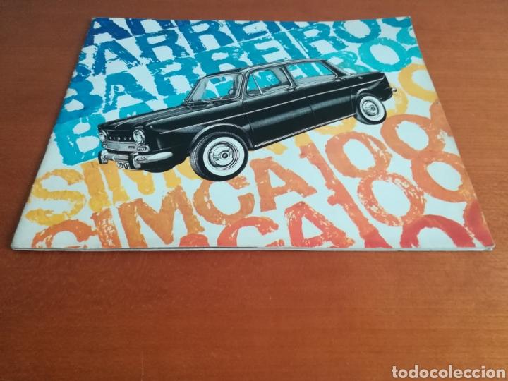 Coches y Motocicletas: Catálogo Simca 1000 Barreiros año 1966 con Marisol al volante - Diseño Vintage - Pepa Flores - Motor - Foto 2 - 183423441