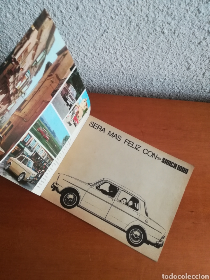 Coches y Motocicletas: Catálogo Simca 1000 Barreiros año 1966 con Marisol al volante - Diseño Vintage - Pepa Flores - Motor - Foto 4 - 183423441