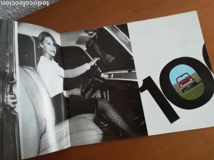 Coches y Motocicletas: Catálogo Simca 1000 Barreiros año 1966 con Marisol al volante - Diseño Vintage - Pepa Flores - Motor - Foto 7 - 183423441