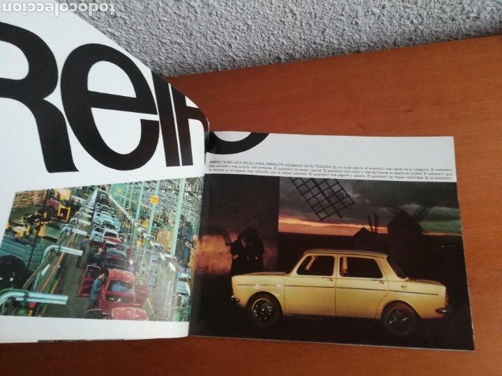 Coches y Motocicletas: Catálogo Simca 1000 Barreiros año 1966 con Marisol al volante - Diseño Vintage - Pepa Flores - Motor - Foto 9 - 183423441