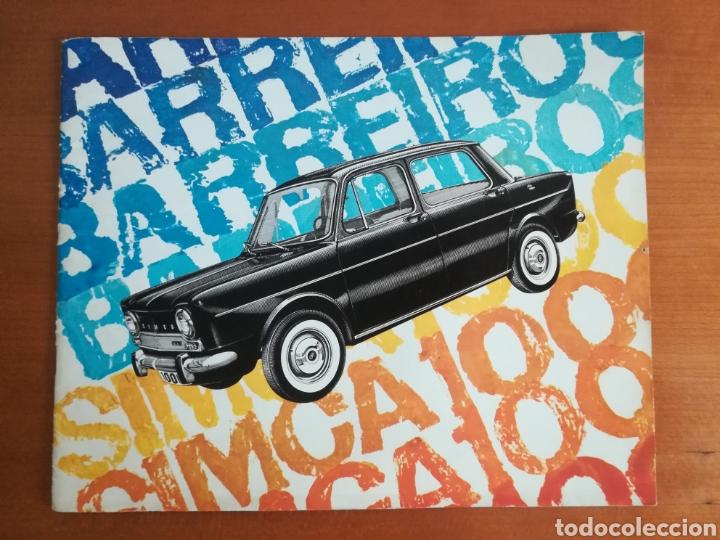 CATÁLOGO SIMCA 1000 BARREIROS AÑO 1966 CON MARISOL AL VOLANTE - DISEÑO VINTAGE - PEPA FLORES - MOTOR (Coches y Motocicletas Antiguas y Clásicas - Catálogos, Publicidad y Libros de mecánica)