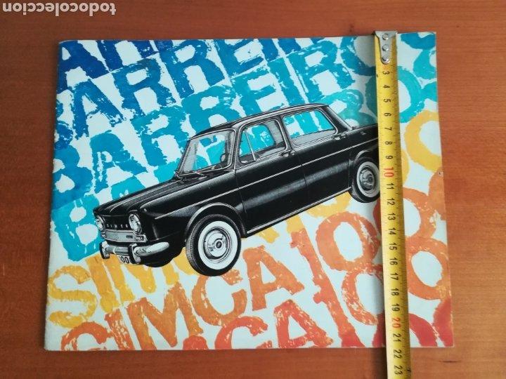Coches y Motocicletas: Catálogo Simca 1000 Barreiros año 1966 con Marisol al volante - Diseño Vintage - Pepa Flores - Motor - Foto 17 - 183423441