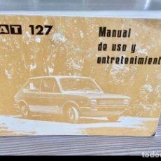 Voitures et Motocyclettes: MANUAL DEL SEAT 127. Lote 183724866
