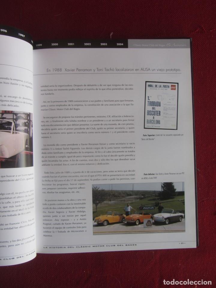 Coches y Motocicletas: INFO CLÀSSIC. Nº 53 EL LLIBRE DEL QUINZE ANIVERSARI. CLÀSSIC MOTOR CLUB DEL BAGES 2005 - Foto 3 - 183961296
