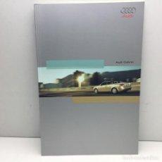 Coches y Motocicletas: CATALOGO ORIGINAL AUDI CABRIO - AÑO 2002 - IMPRESO EN ALEMANIA. Lote 184011142