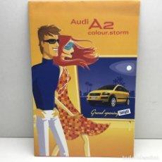 Coches y Motocicletas: PUBLICIDAD ORIGINAL AUDI A2 - AÑO 2003 - IMPRESO EN ALEMANIA. Lote 184011213