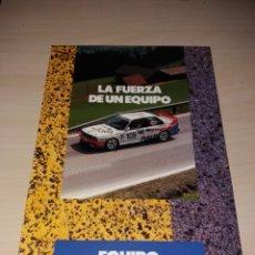 Coches y Motocicletas: EQUIPO HISPANO 20 BMW - LA FUERZA DE UN EQUIPO. Lote 184077667