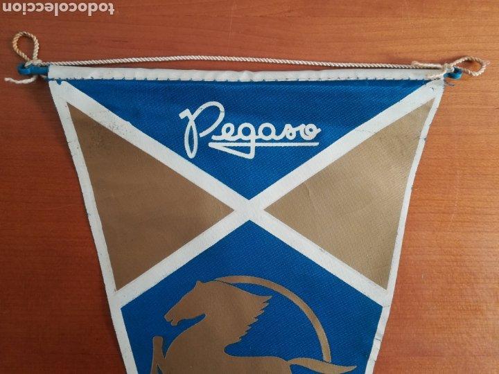 Coches y Motocicletas: Banderín publicidad Pegaso - Camión Autocar Furgoneta Motor - Foto 2 - 184553560