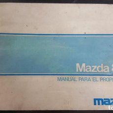 Coches y Motocicletas: MAZDA 818 - MANUAL INSTRUCCIONES PROPIETARIO. AÑO 1976. Lote 203246375
