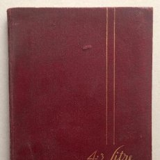 Voitures et Motocyclettes: ALVIS 4.3 LITRE, HANDBOOK OF INSTRUCTIONS (1939). Lote 186043218