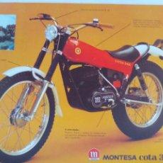 Coches y Motocicletas: MONTESA COTA 348 FOLLETO. Lote 186046657