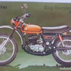 Coches y Motocicletas: MONTESA KING ESCORPIÓN 250. Lote 186046910
