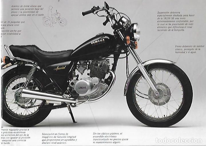 Coches y Motocicletas: CATALOGO ORIGINAL YAMAHA SR 250 SE - Foto 4 - 186087156