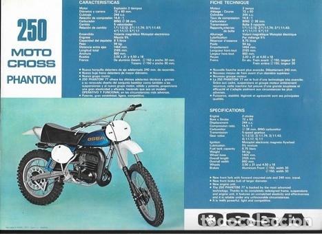 Coches y Motocicletas: MOTOCICLETA OSSA 250 MOTO - CROSS PHANTOM - Foto 2 - 186279906