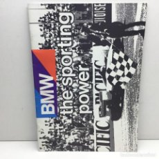 Coches y Motocicletas: CATÁLOGO ORIGINAL BMW - THE SPORTING POWER - AÑO 1986 - IMPRESO EN ALEMANIA . Lote 186454318
