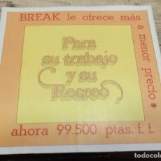 Coches y Motocicletas: CATALOGO COCHE CITROEN BREAK 3CV 1968 ESPAÑOL CATALOGO EN BUEN ESTADO.. Lote 186805776