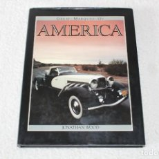 Coches y Motocicletas: GREAT MARQUES OF AMERICA - JONATHAN WOOD - OCTOPUS BOOK 1986 (EN IDIOMA INGLES). Lote 188477323