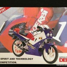 Voitures et Motocyclettes: DERBI GPR SPORT 75 80 - FOLLETO CATALOGO ORIGINAL - NO LIBRO MANUAL TALLER VARIAN GP MOTOCICLISMO. Lote 189487313