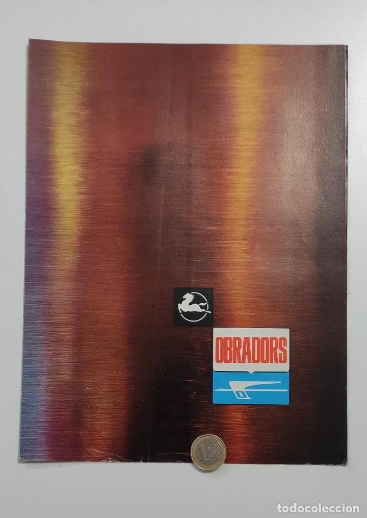 CATÁLOGO ORIGINAL AUTOCAR PEGASO OBRADORS (Coches y Motocicletas Antiguas y Clásicas - Catálogos, Publicidad y Libros de mecánica)