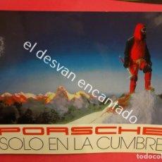 Coches y Motocicletas: PORSCHE. CATÁLOGO DE LA GAMA EN ESPAÑOL. AÑOS 1990S. ALGO ABIERTO DEL LOMO. Lote 189768733