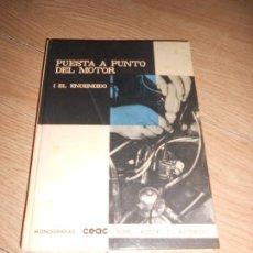 Carros e motociclos: PUESTA A PUNTO DEL MOTOR EL ENCENDIDO - MIGUEL DE CASTRO - CEAC. Lote 190276980