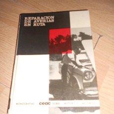 Carros e motociclos: REPARACION DE AVERIAS EN RUTA - MIGUEL DE CASTRO - CEAC. Lote 190277160