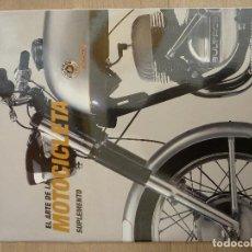 Coches y Motocicletas: LIBRO·SUPLEMENTO-EL ARTE DE LA MOTOCICLETA-GUGGENHEIM BILBAO-EL ARTE DE LA MOTOCICLETA ESPAÑOLA. Lote 222306270