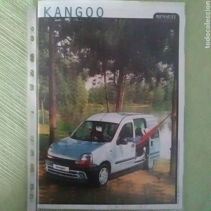 CATÁLOGO RENAULT KANGOO Y KANGOO EXPRESS (Coches y Motocicletas Antiguas y Clásicas - Catálogos, Publicidad y Libros de mecánica)