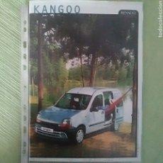 Coches y Motocicletas: CATÁLOGO RENAULT KANGOO Y KANGOO EXPRESS. Lote 190835730