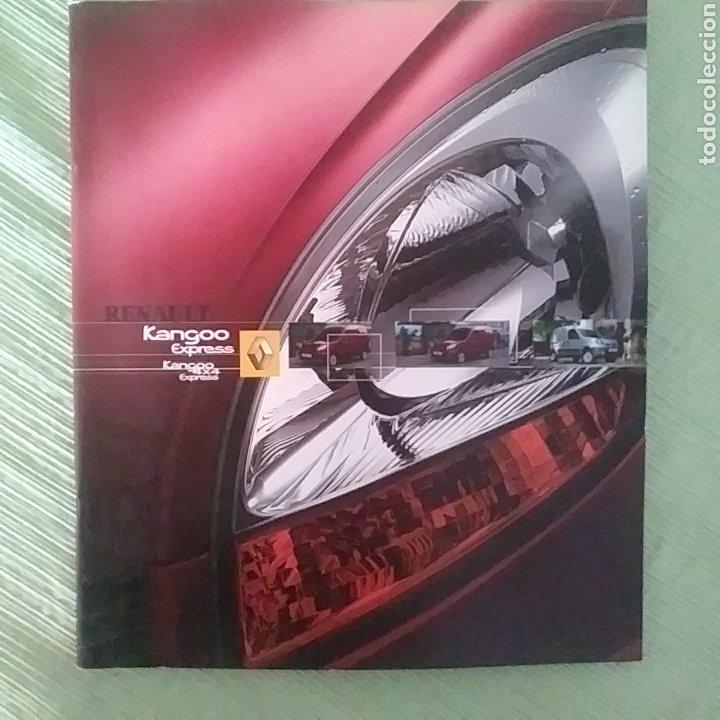 CATÁLOGO RENAULT KANGOO EXPRESS & KANGOO 4X4 EXPRESS (Coches y Motocicletas Antiguas y Clásicas - Catálogos, Publicidad y Libros de mecánica)